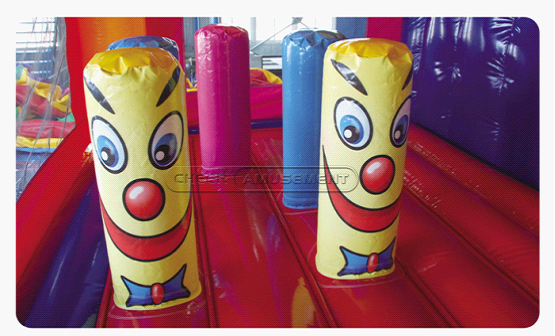 Cheer Amusement FairyTalesCastle Themed Inflatable Combo Amusement Equipment With Bouncer And Slider Supply