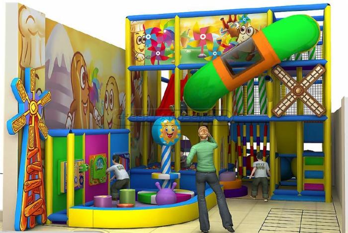 Cheer Amusement Children Amusement Park Indoor Playground