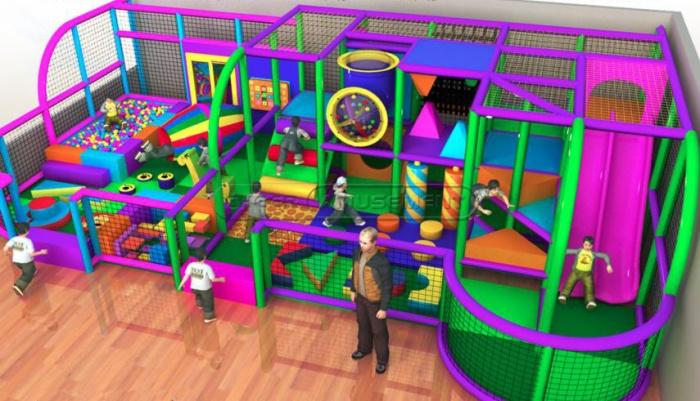 Cheer Amusement Kids Toddler Area Indoor Playground Equipment
