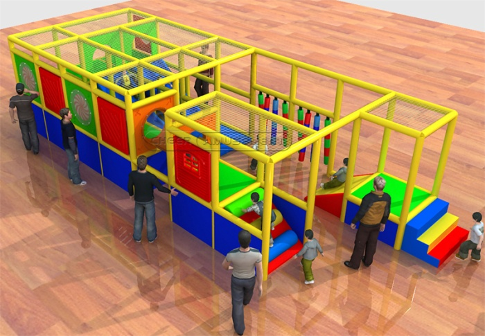 Cheer Amusement Children Play Centre Toddler Soft Playground Equipment