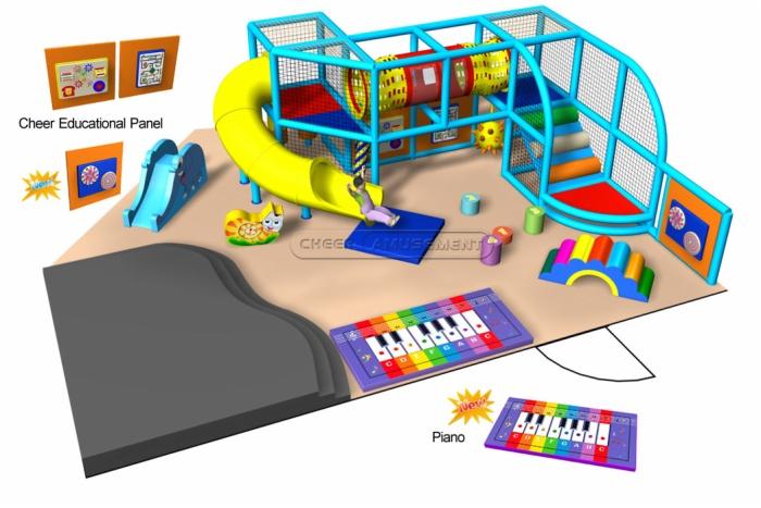 Cheer Amusement Kids Play Zone Toddler Playground 20110724