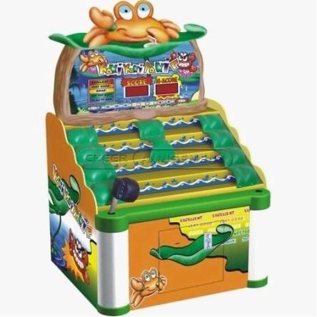 Cheer Amusement Children Electronic Game Machine Crab Panic