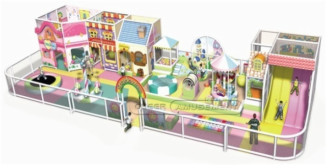 Cheer Amusement Candy Themed Toddler Playground Equipment