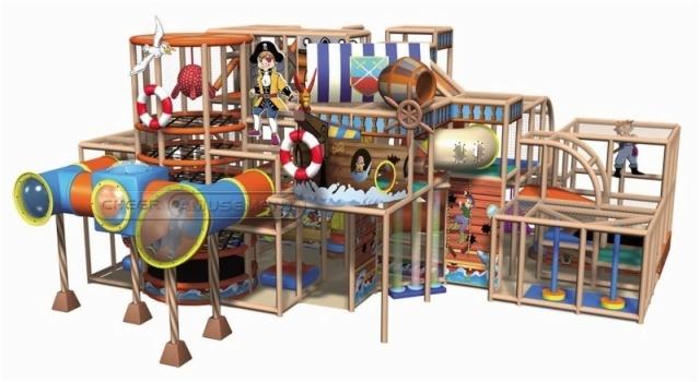 Cheer Amusement Pirate Themed Toddler Playground Equipment