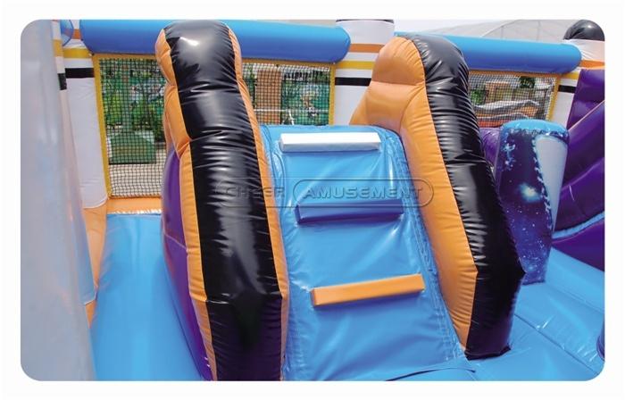 Cheer Amusement Space Theme Inflatable Fun City Amusement Equipment Supply