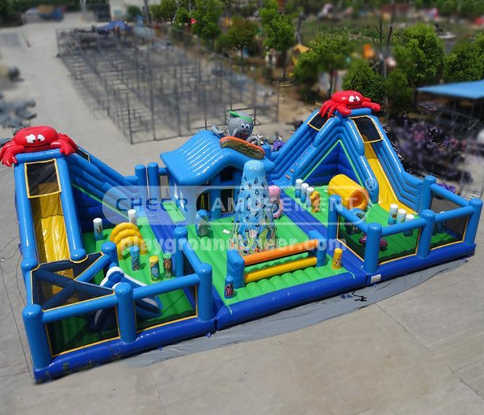 Cheer Amusement Ocean Advanture Inflatable Combo