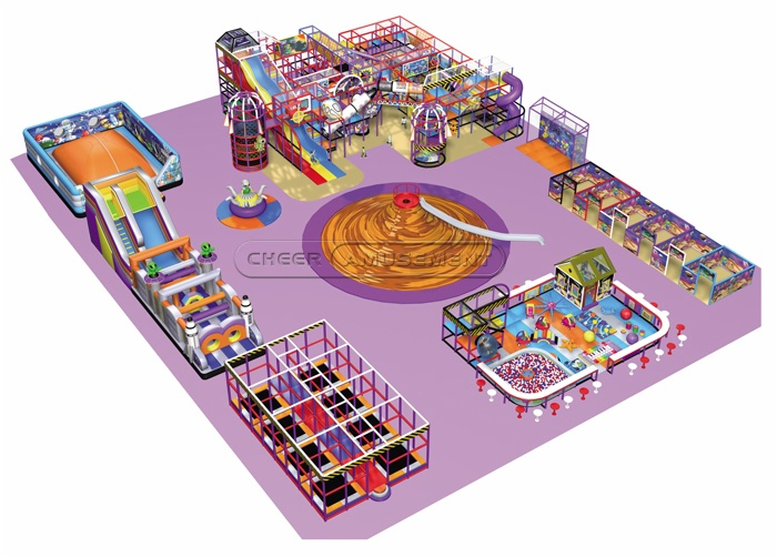 Cheer Amusement Indoor Playground Equipment