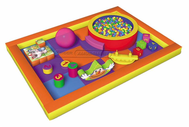 Cheer Amusement Happy Candy Themed Toddler Playground Equipment