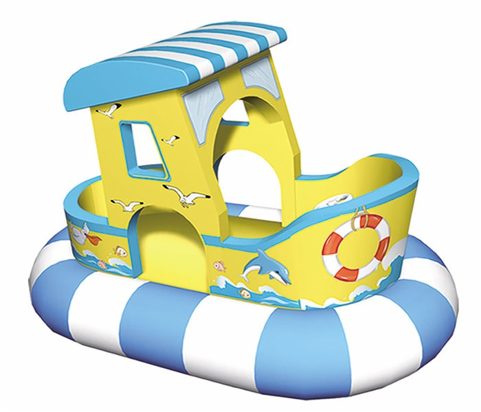 Cheer Amusement Ocean Themed  Rocking Boat