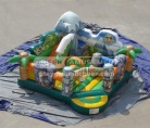 Cheer Amusement Jungle Themed Inflatable Bouncer Park
