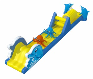 Cheer Amusement Marine-Themed Inflatable Pool Obstacle Course