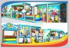 Cheer Amusement Seaside Zone Children Toddler Soft Playground Equipment