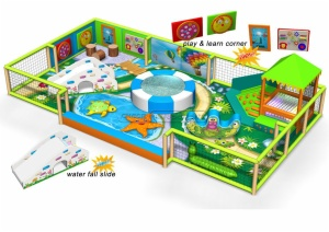Cheer Amusement Children Play Centre Underwater World Themed Toddler Soft Playground Equipment