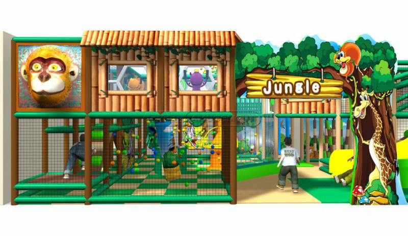 Cheer Amusement Jungle Themed Children Amusement Park