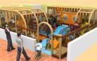 Cheer Amusement Jungle Themed Children Play Centre Indoor Soft Playground Equipment