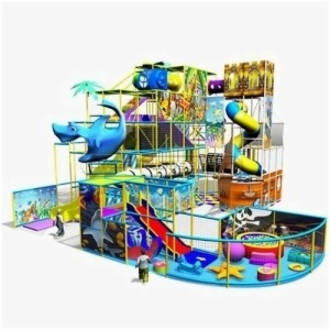Cheer Amusement Underwater World Theme Indoor Playground Equipment Supplier