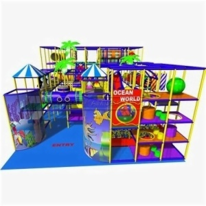 Cheer Amusement Ocean World Theme Indoor Soft Play Playground Equipment