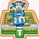 Cheer Amusement Rural Farm Themed Inflatable Fun City Indoor Soft Playground Amusement Equipment Supply