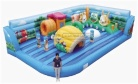 Cheer Amusement Theme Inflatable Fun City Amusement Equipment Supply