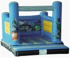 Cheer Amusement Space Theme Inflatable Bouncer Amusement Equipment Supply