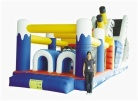 Cheer Amusement Marine Animal Themed Inflatable Obstacle Fun City Amusement Equipment Supply