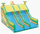 Cheer Amusement Jungle Theme Inflatable Slide Amusement Equipment Supply
