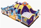 Cheer Amusement Space Theme Inflatable Fun City Amusement Equipment Supply