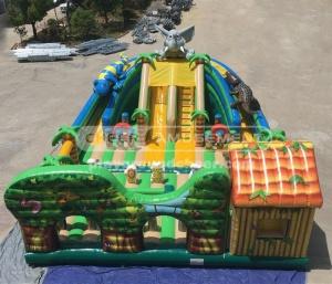 Cheer Amusement Jungle Themed Inflatable Fun City Park