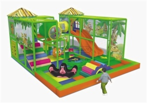 Cheer Amusement Jungle Themed Toddler Playground Equipment