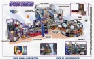 Cheer Amusement Space Themed Indoor Playground Equipment