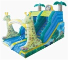 Cheer Amusement Inflatable Giraffe Slide Amusement Equipment Supply