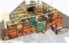 Cheer Amusement Children Indoor Underwater And Pirate Themed Playground 20130216-003-C-3