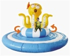Cheer Amusement Inflatable Interactive Rotating Octopus Amusement Equipment Supply