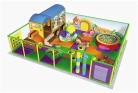 Cheer Amusement Cartoon Village Themed Toddler Playground Equipment
