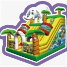 Cheer Amusement Jungle Themed Inflatable Slide Amusement Equipment Supply