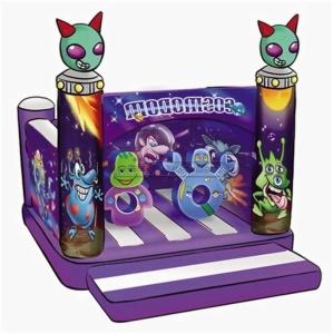 Cheer Amusement Alien Themed Fun Bouncer Inflatable Bouncer Amusement Equipment Supply