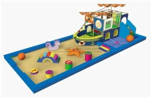Cheer Amusement Ocean Themed Toddler Playground Equipment
