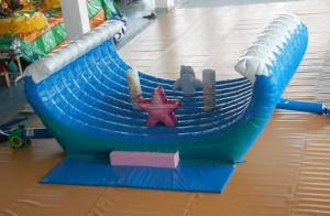 Cheer Amusement Ocean Themed Children Inflatable Bouncer