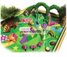 Cheer Amusement farm themed soft-sculpted foam play center