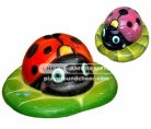 Sculpture ladybug shaped item with lovely cartoon decoration