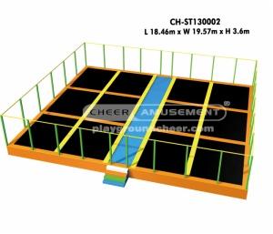 Cheer Amusement Independent trampoline CH-ST130002