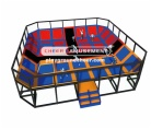 Cheer Amusement Outdoor trampoline park CH-ST130005