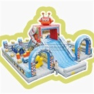 Cheer Amusement Robot Themed Inflatable Fun City Indoor Playground Amusement Equipment Supply