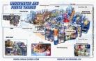 Cheer Amusement Underwater And Pirate Themed Indoor Playground Equipment