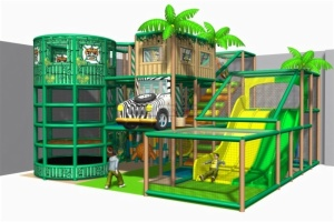 Cheer Amusement Jungle Themed Indoor Playground Equipment 20130222-020-C-1