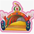 Cheer Amusement Circus Clown Themed Inflatable Fun City Indoor Soft Playground Amusement Equipment Supply